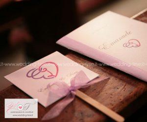ventaglio matrimonio personalizzato in coordinato artigianale