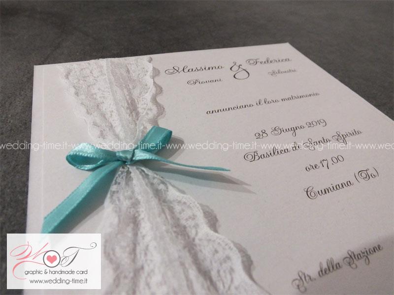 Partecipazioni Matrimonio Azzurro Tiffany : Moda partecipazioni matrimonio tiffany yx pineglen