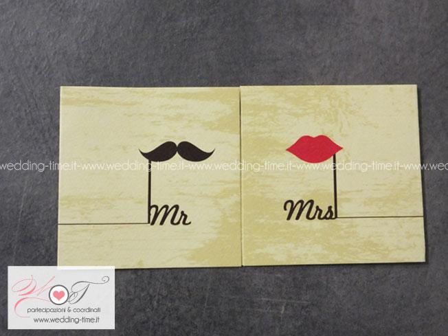 Partecipazione Matrimonio Collezione Grafica 022